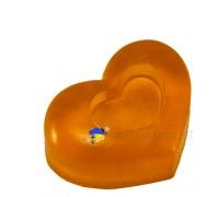 """Медовое мыло с календулой """"Сердце в сердце"""""""