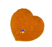 """Медовое мыло с календулой """"Сердце в цветах"""""""